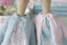 Dolls, angels....