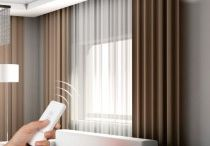 Motorized Curtain Rod / Choose wide range Motorized curtain/Drapery Rods from decowindow online store in budget price. Now operate your curtains without getting up with remode and  Protect your privacy or Enjoy the outside beauty or Create the right mood.