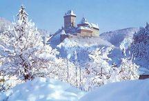 památky v zimě