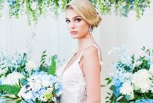 Style Photo Shoot - Porcelain Blue Wedluxe