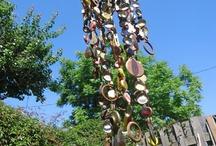 Carillon á vent avec des capsules