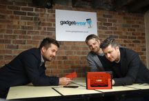 Meet the team #GadgetWear / Meet team #GadgetWear  GadgetWear is run by Yorkshire brothers Matt and Dan Moorhouse and started life back in 2011, as most small businesses do, in the spare room! Operations Manager Chris joined the team in 2014 when GadgetWear began to expand its product portfolio and moved to Huddersfield.