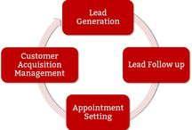 Lead Generation / Creating sales leads which might convert into sale for the company.