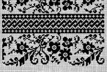 Fairisle pattern / Strickmuster selber nachstricken