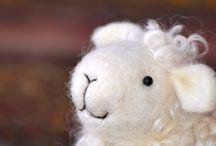 Needle Felting/Felted Sheep
