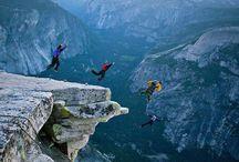 Base jump & Wingsuit