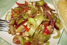Recepty saláty a pomazánky