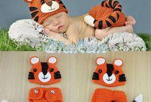 new born crochê