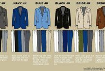 Style, tips and tricks / A little bit of men's fashion + tips and tricks for maintaining good style.