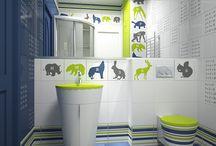 Banheiro para Criança / http://www.vitoriaimoveiscuritiba.imb.br/