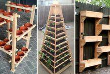 Haus- vertikaler Garten