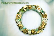 Jewelry wreaths