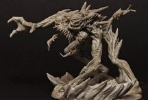Miniatures! / 80 Horror Miniatures set in a Lovercraftian Universe. Well balanced gameplay, amazing art and a story offer the Horror experience!  The Amityville Project: http://www.kickstarter.com/projects/magecompany/the-amityville-project-phobos-0