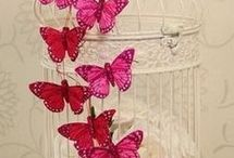 Butterfly, dragonfly
