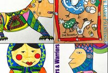 Around the world activities / Around the world art and crafts learning