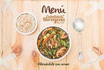Menú Vegano 2014 - 2015 / Nuevo Menú 100% Vegano, creado con el corazón, sin productos de orígen animal, 100% Artesanal y delicioso