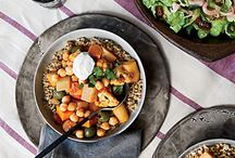 Delicious Healthy Entrees / Heart Healthy and many plant-based- Yum!