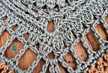 scialle crochet Shawlette