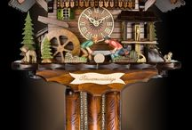 Cool Cuckoo Clocks / Interesting photos of authentic Black Forest cuckoo clocks