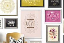 Inspirações de decoração / Fotos inspiradoras de decoração e design de ambientes, organização e ideias criativas.