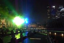 Wonderfull water in Marina Bay Sands