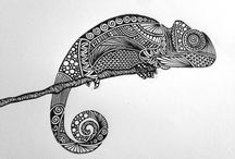 tattoo camaleão