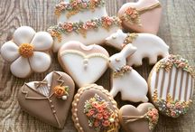 wedding & love cookies