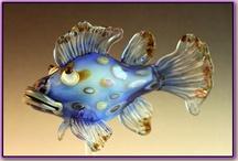 Lampwork Sea & Fish