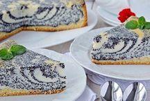 tvarohomakový koláč