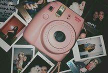 Fotoğraf makinesi ve fotoğraflar