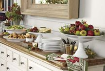 buffett and table setting