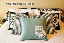 Curtians and Pillows and Bedding