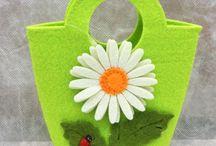 Fosfor Yeşil Çanta