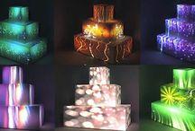 Unique 3D Wedding Cakes