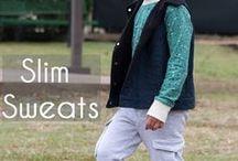 cute boy sewing patterns