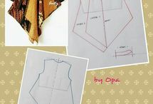 Blouse batik 1