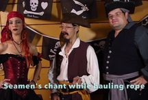 How to Talk Like a Pirate / Video on how to Talk Like a Pirate, Buccaneer, Privateer or Scurvy Dog