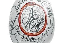 ILLUSTRATION CALLIGRAPHY FLORENCE GENDRE / Dessin calligraphique, illustration et calligraphie