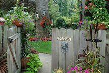 vidéki kert