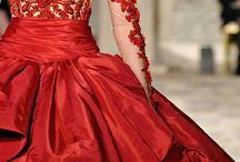 vestiti rossi