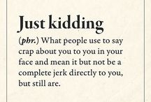 Definitions lol