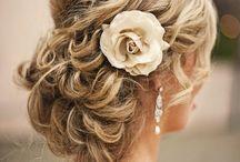 Wedding updo's / bruidskapsels, bruiloft, kapsels,