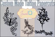 Tattoos / A selection of items for sale on our online marketplace surrounding the theme of tattoos