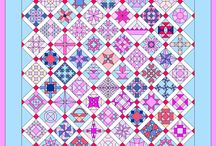 """Ladies Art Company / The blocks of the Ladies Art Company were the base for the Farmer's Wife Quilt. Now Jolanda expands on the FW Quilt with two new quilt designs in 6"""" blocks that can be added to your Farmer's Wife Quilt project as well."""