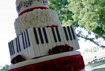 Musical wedding cake / by Mary Stevenson