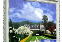 Oil Paintings on Canvas / Oil Paintings created by a professional artist on canvas