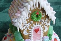 Gingerbread house / Inspiratie voor ons gingerbread house!!!