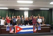 Solidários / A nossa teimosa solidariedade para com nossa querida ilha socialista, Cuba!