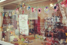 Display Ideas / Displays for shops and craft fairs, merchandising