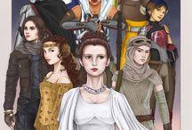 Star Wars female characters
